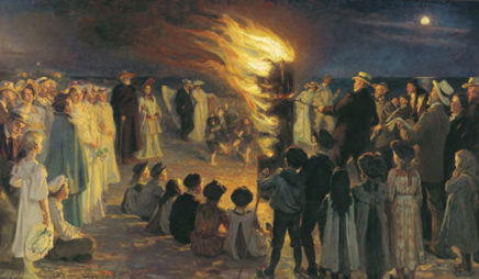 Saint Hans—Midsummer Celebration in Denmark
