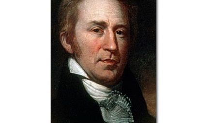 William Clark, co-leader of the expedition.
