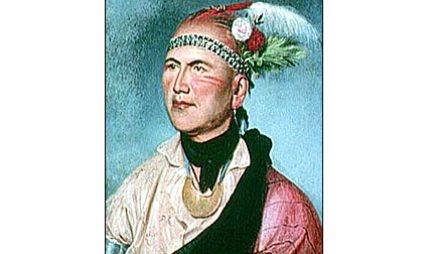 Thayendanegea, a Mohawk Chief