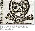 [Picture of a cartoon protesting the Stamp Act]