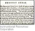 [Picture of 'Common Sense']