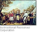 [Picture of Cornwallis' surrender]