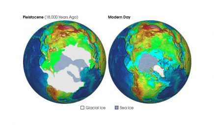 Ice sheet advance during the most recent ice age