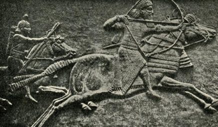 Nineveh carving