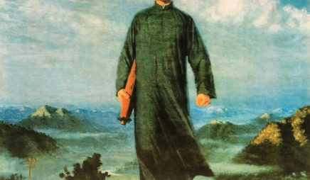 Chairman Mao en Route to Anyuan