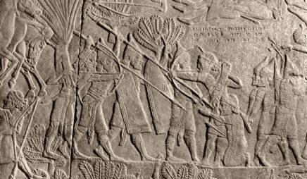 Battle of Til-Tuba (Battle of the River Ulai) (detail)