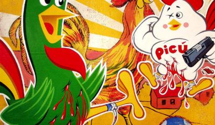 Pelea de Gallos (Fight of the Roosters)