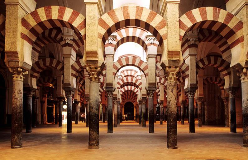 Art La Mezquita Great Mosque Interior Annenberg Learner