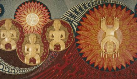 Te wehenga o Rangi Raua ko Papa (The Separation of Rangi and Papa)