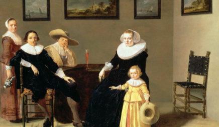 Dutch Family in an Interior