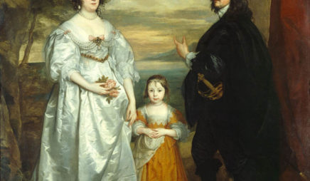 James, Seventh Earl of Derby, His Lady and Child