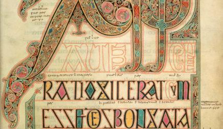 Lindisfarne Gospels, fol. 29 (Cotton MS, Nero D.IV)