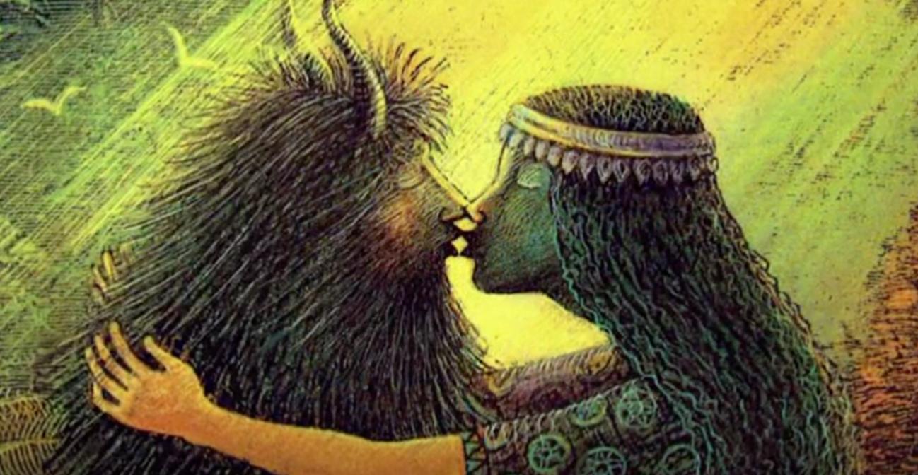 Enkidu and Shamhat