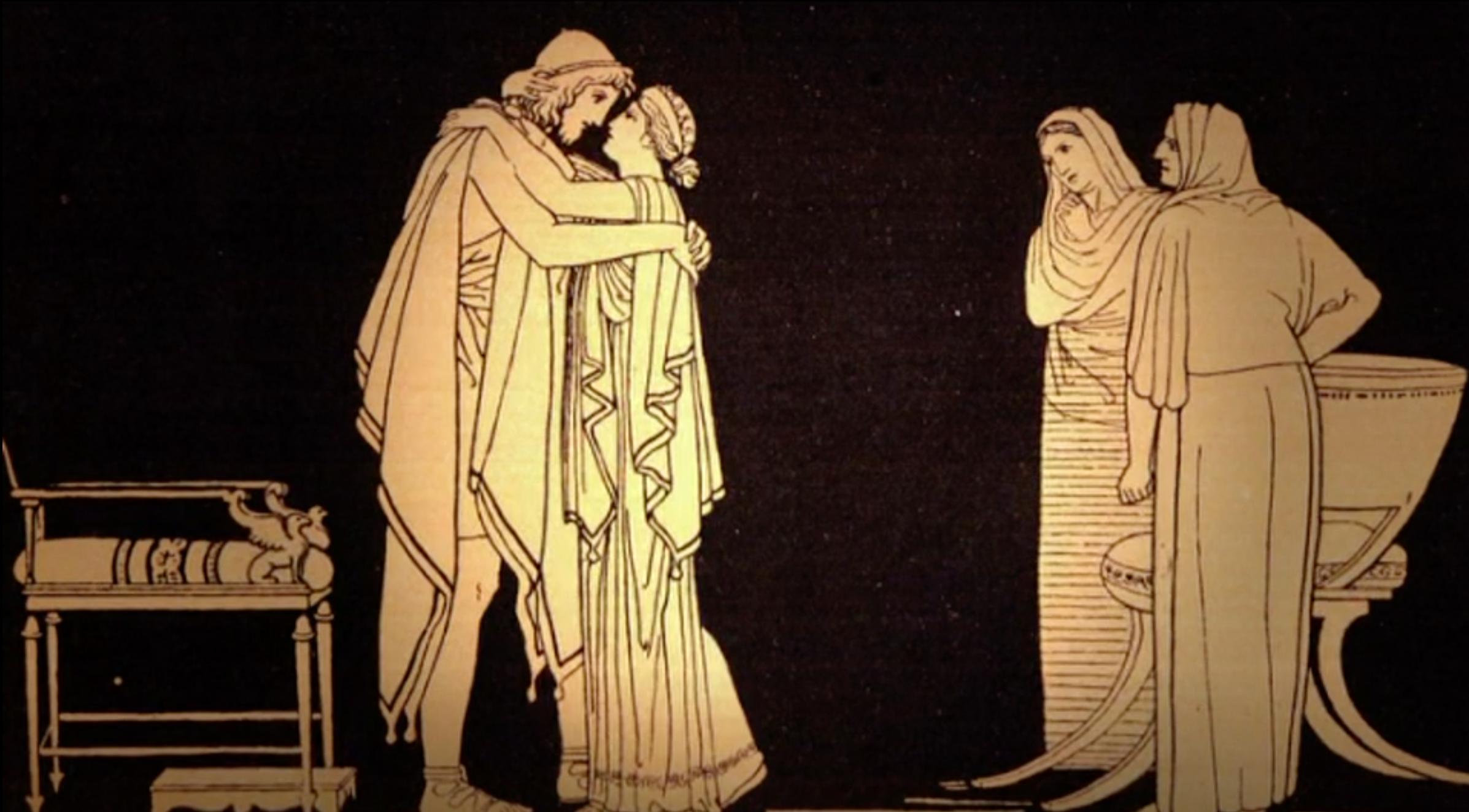 Penelope suitors odysseus Odysseus